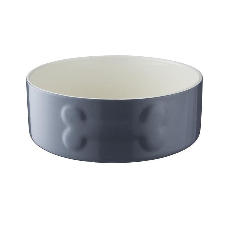 Colour Mix Dog Bowl, Grey