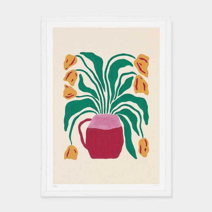 Liv Lee, Tulips Art Print, Unframed, A2