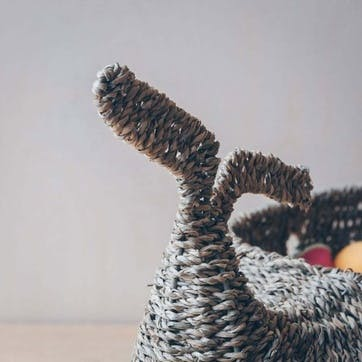 Whale Seagrass Basket