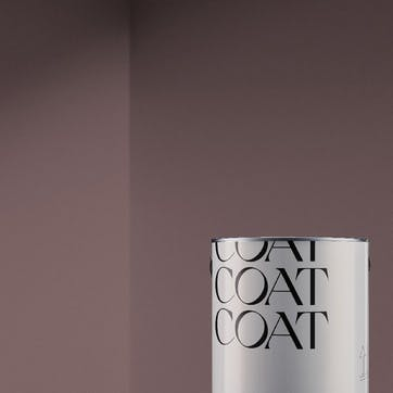 Flat Matt Wall & Ceiling Paint, Festival Eve Dark Reddish Purple 2.5L
