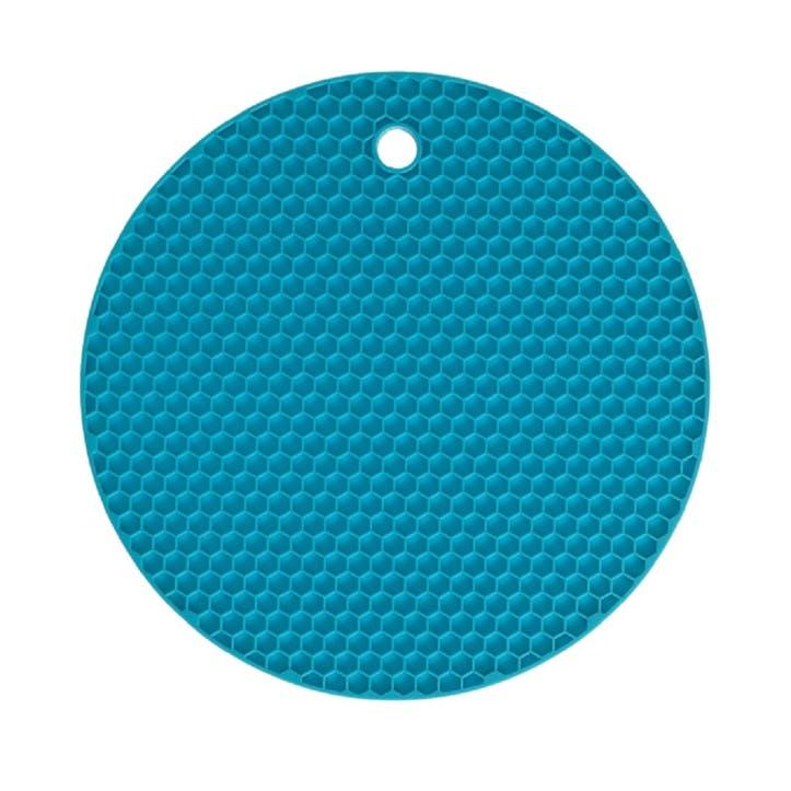 Honeycomb Trivet, 18cm, Turquoise