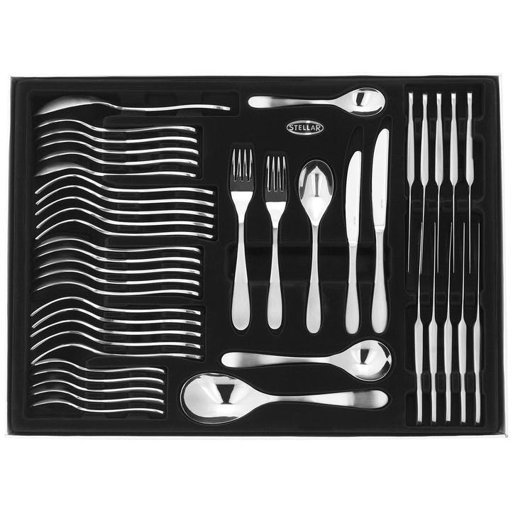 Salisbury Cutlery Set, Gift Boxed - 44 Pieces