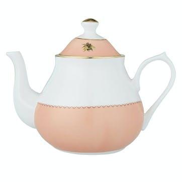 Cockatoo and Zebra Teapot