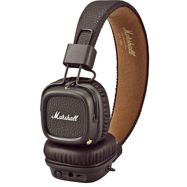 Major III Bluetooth Headphones; Brown