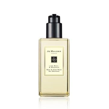 Body & Hand Wash, Lime Basil & Mandarin, 250ml