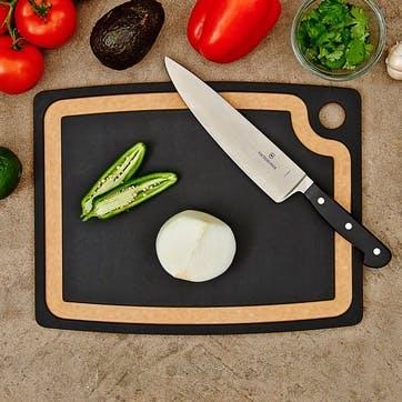 Chopping Board, L37 x W29cm, Natural and Slate