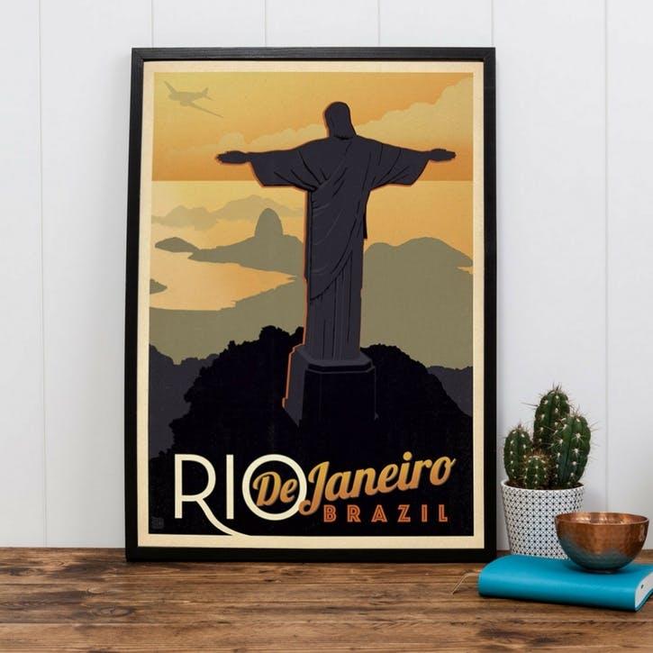 Rio De Janeiro Print