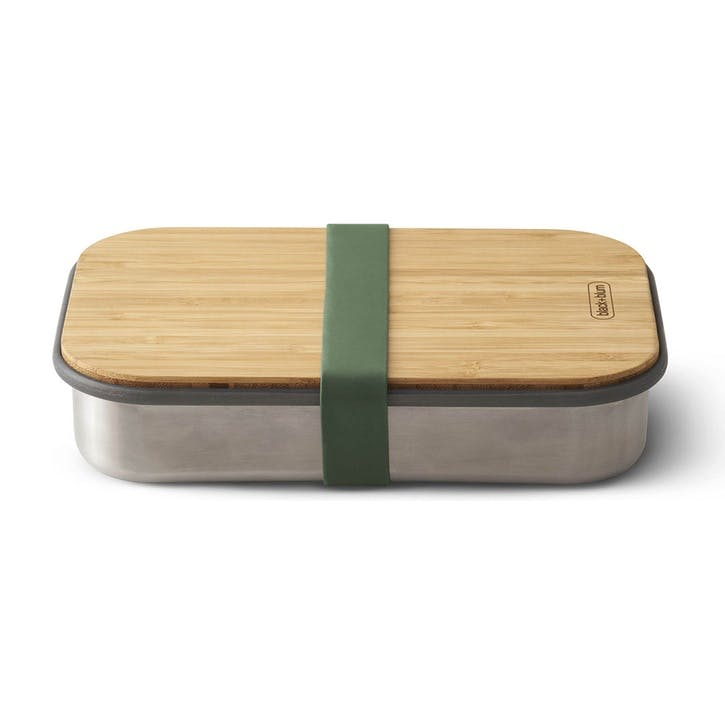 Stainless Steel Sandwich Box, Olive