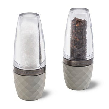 City Concrete and Acrylic Salt & Pepper Gift Set