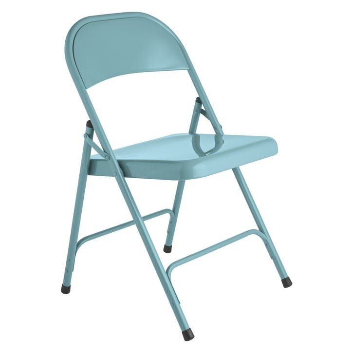 Macadam Folding Chair, Blue