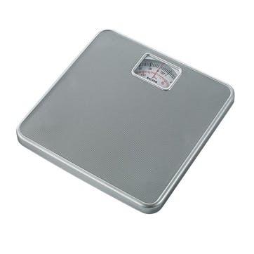 Mechanical Bathroom Scale, Silver