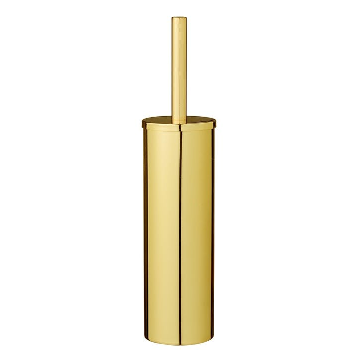 Gold Toilet Brush & Holder