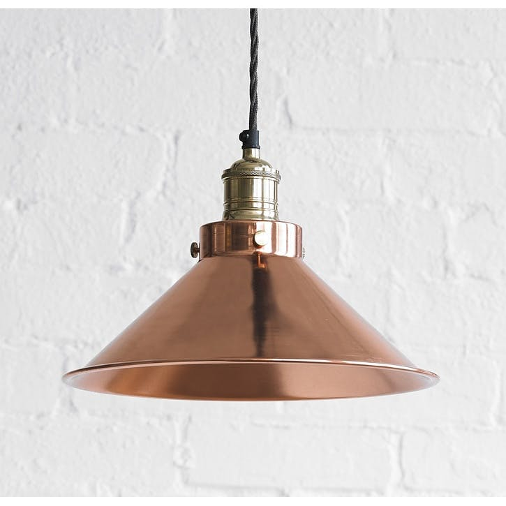 Dexter Pendant Light in Copper, Larger
