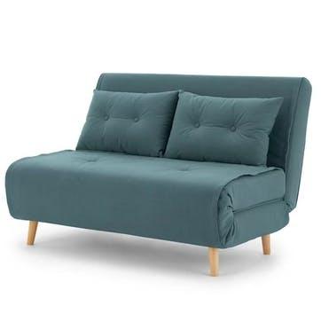 Haru Sofa Bed - Double; Sherbert Blue