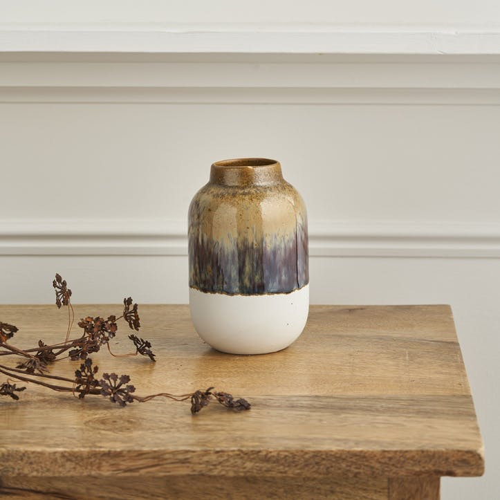Two Tone Natural Vase, Small