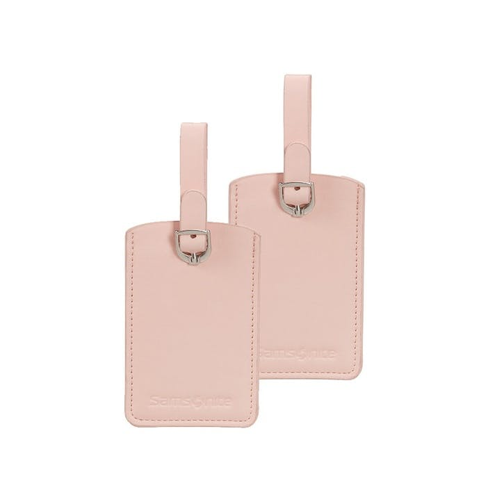 Luggage Tag, Set of 2, Pale Rose