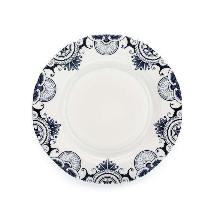 Ink Blue Palisade Medium Plate