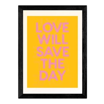 Limbo and Ginger, Save The Day Framed Art Print