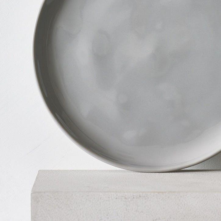 Portobello Side Plate, Grey