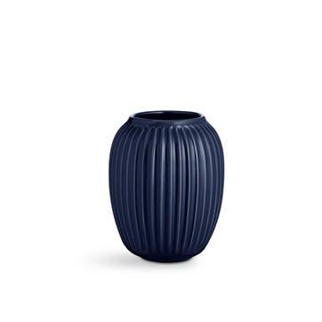 Hammershøi Vase, Medium, Indigo