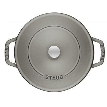 Cast Iron Multi-Purpose Sauté Pan, Graphite Grey