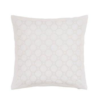 Skye Cushion, White