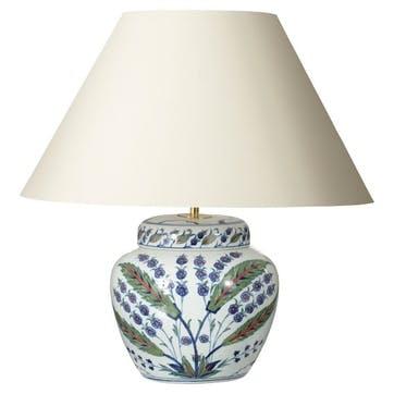 Iznik Urn Table Lamp