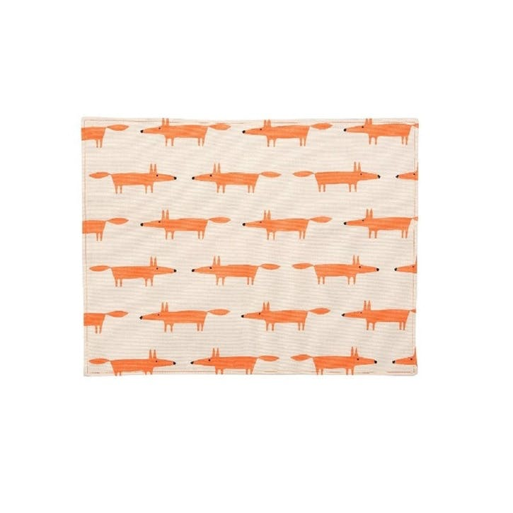 Mr Fox Placemats, Set of 4
