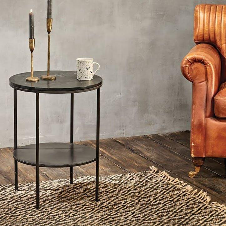 Karoko Marble Side Table