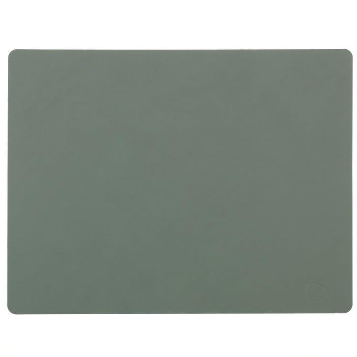 Rectangular Placemat, Set of 4, Pastel Green