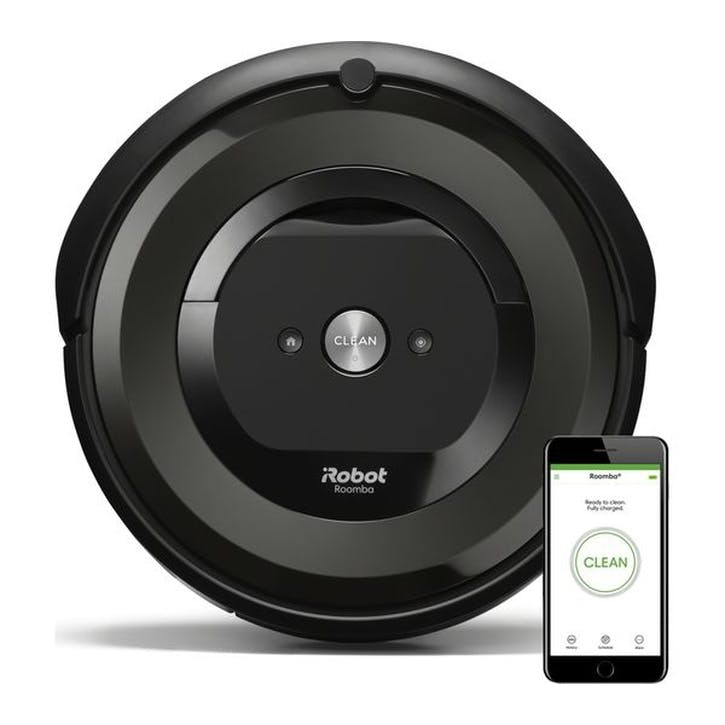 iRobot Roomba E5158 Robot Vacuum Cleaner, Black