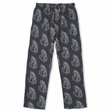 Tiger Pyjama Trousers, Small