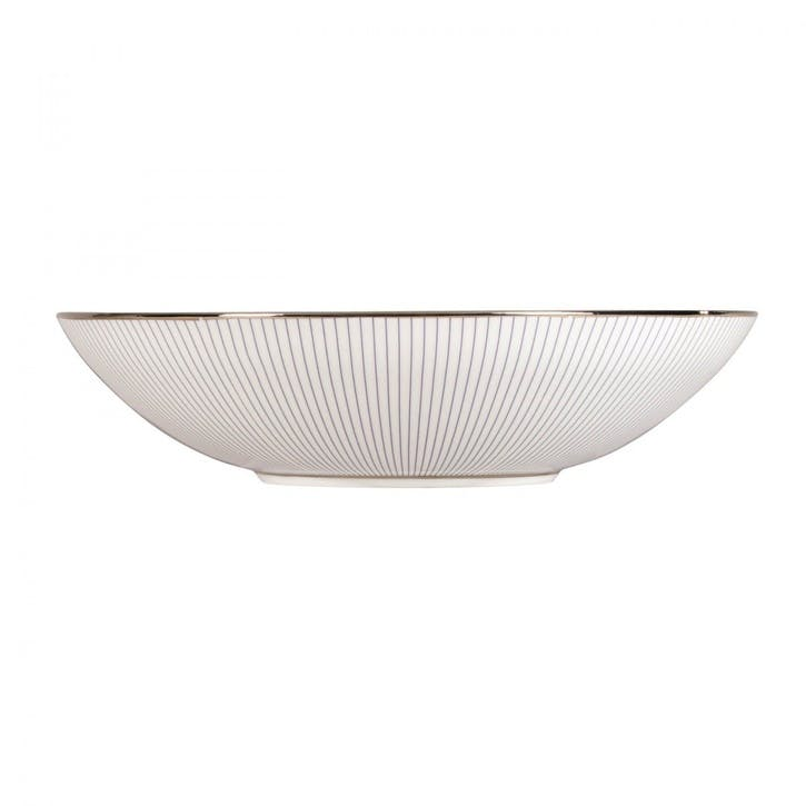 Pin Stripe Soup Bowl