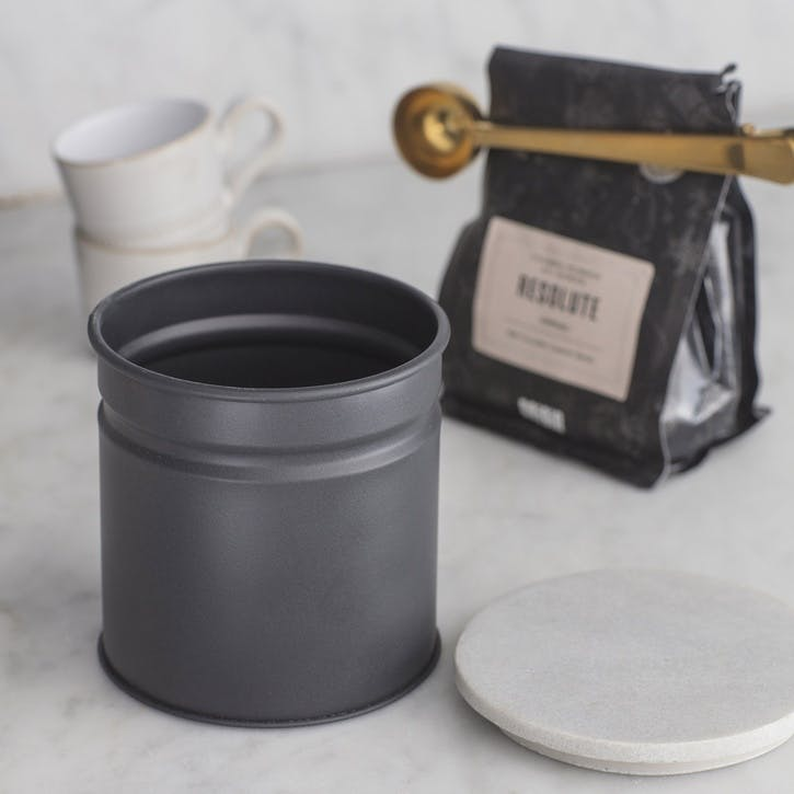 Brompton Canister, Carbon - Iron and Marble