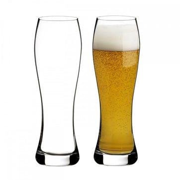 Elegance Lager Glass, Set of 2
