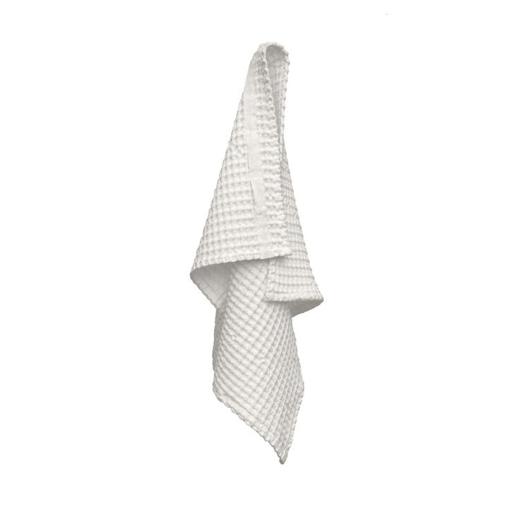 Waffle Hand Towel, L75 x W50 cm, Natural White