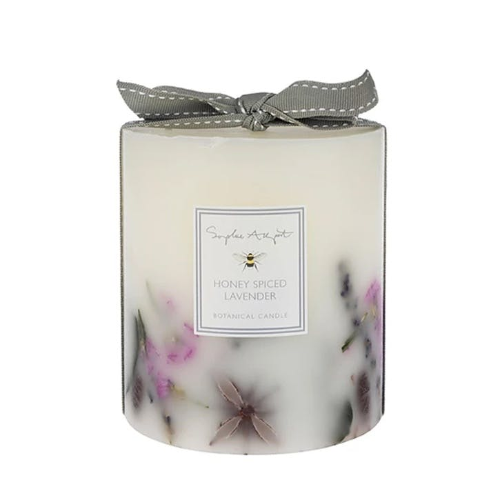 Honey Spiced Lavender Botanical Candle