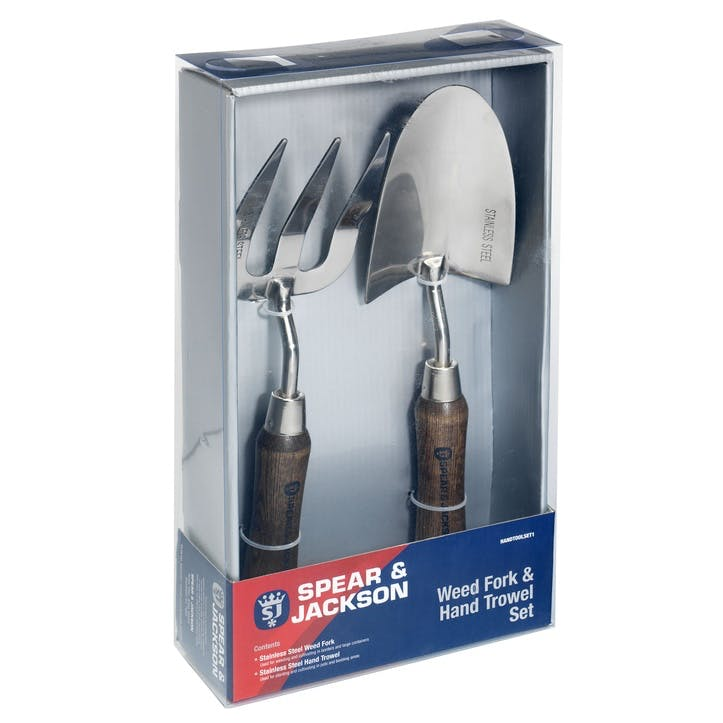 Stainless Steel Trowel and Weed Fork Set
