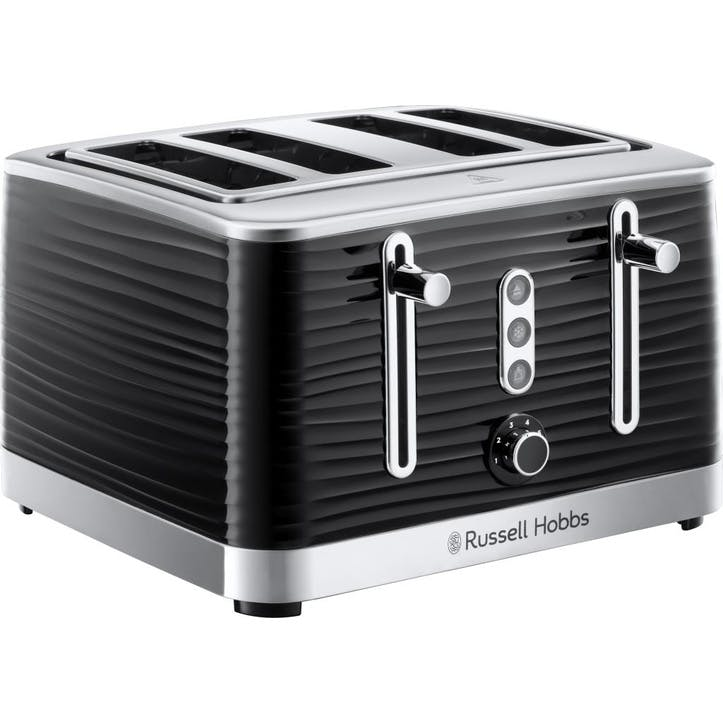 Inspire 4 Slice Toaster; Black