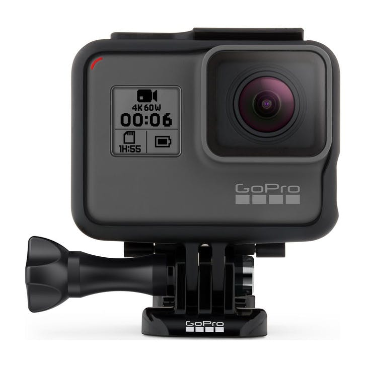 HERO6 4K Ultra HD Camcorder; Black