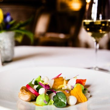 Seven Course Tasting Menu for Two at the 3 AA Rosette Dining Room at Mallory Court Hotel, Warwickshire