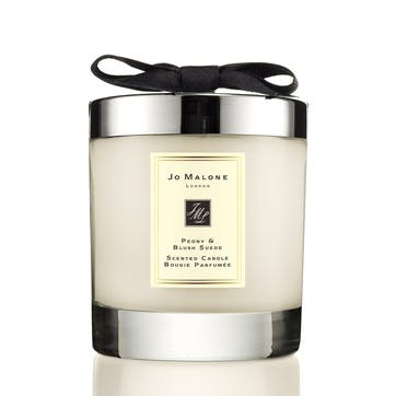 Home Candle, Peony & Blush Suede