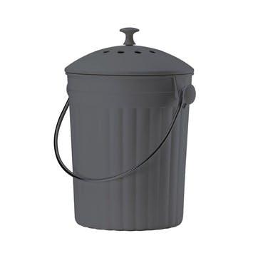 Black Eco Compost Pail, 4.5l