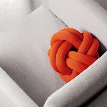 Knot, Cushion, Orange