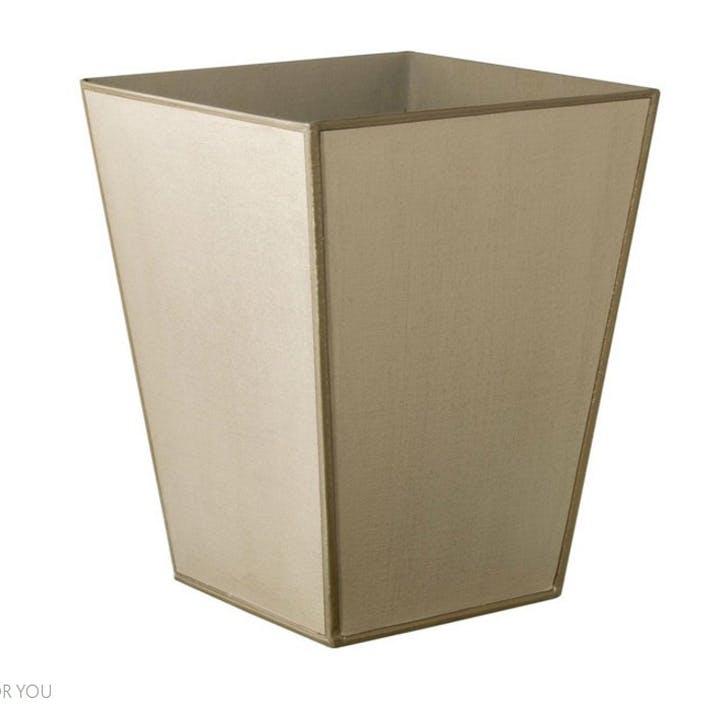 Mala Handpainted Wastepaper Bin, Sand