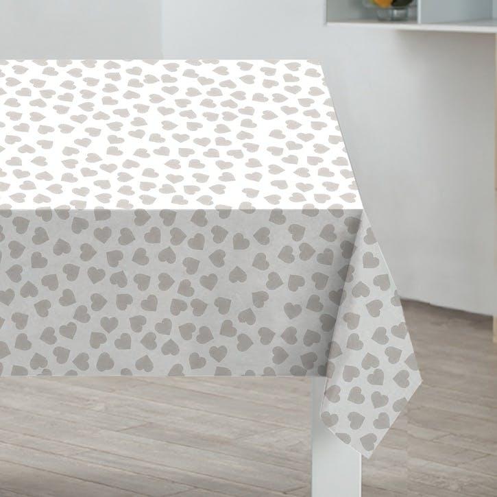 Hearts PVC Tablecloth