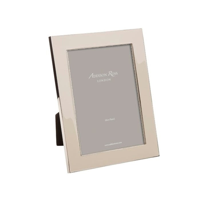 "Heritage Enamel Photo Frame - 4"" x 6""; Pebble"