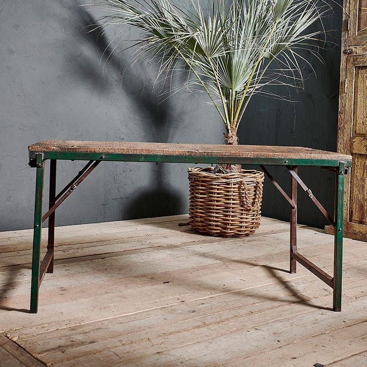 Ishan Reclaimed Folding Dining & Coffee Table