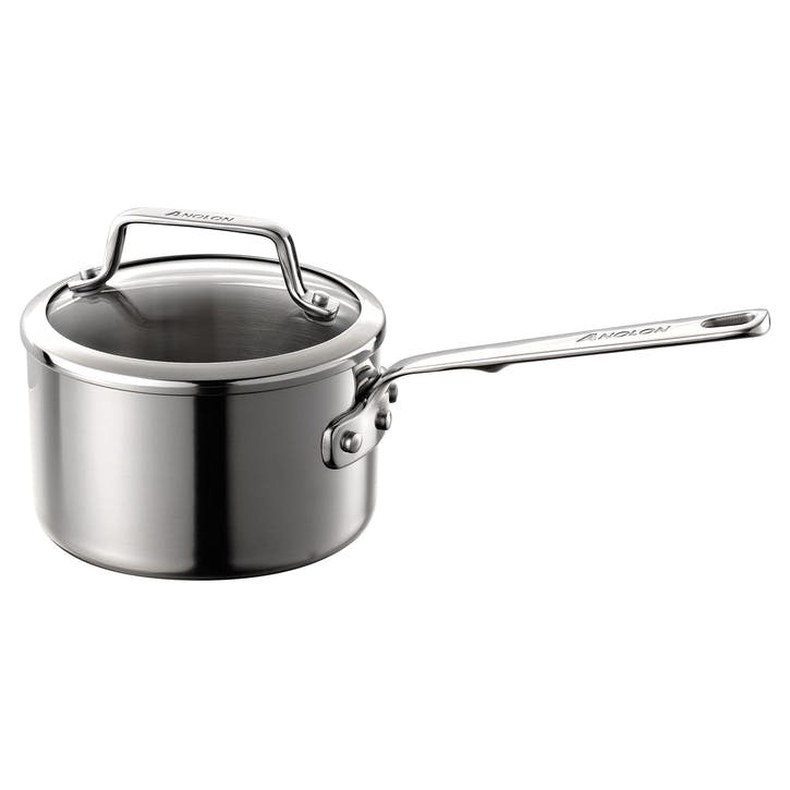 Authority Stainless Steel Saucepan - 16cm