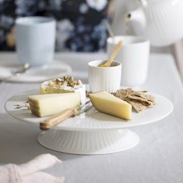 Hammershøi Dish on Stand, White
